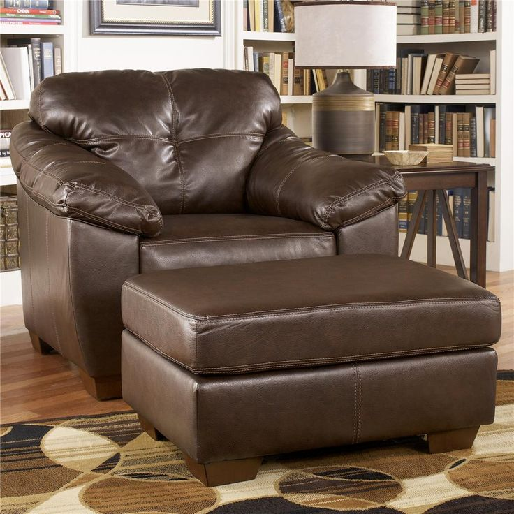 Shop For The Ashley Furniture San Lucas   Harness Upholstered Chair And  Ottoman At Rooms And Rest   Your Mankato, Austin, New Ulm, Minnesota  Furniture ...