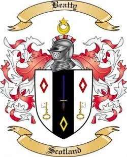 Beatty Family Crest from Scotland