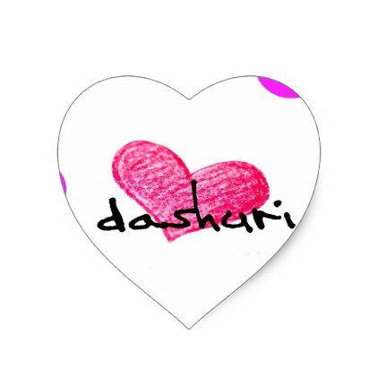 Albanian Language of Love Design Heart Sticker - craft supplies diy custom design supply special