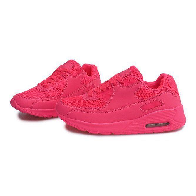Sportowe Obuwie Do Biegania K01 Rozowy Rozowe Pink Running Shoes Shoes Running Shoes