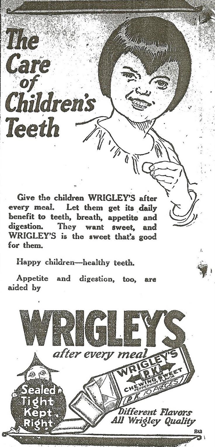 chew gum for healthy teeth