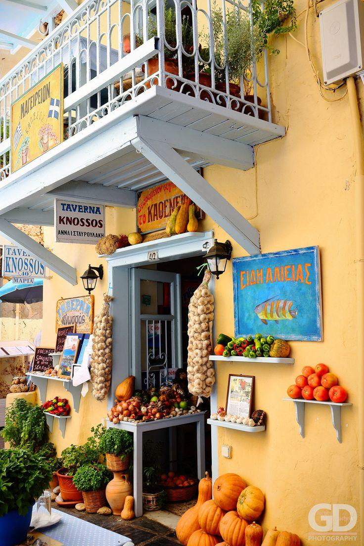 Taverna in Rethymno - Crete, Greece