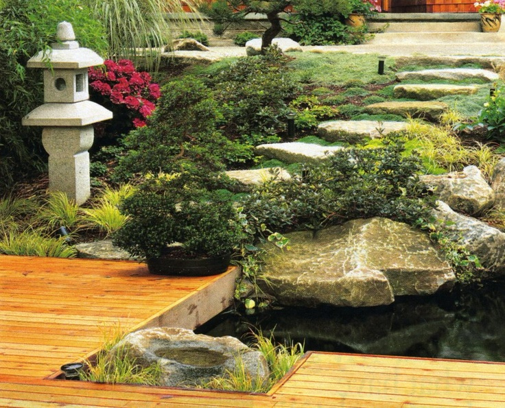 Teenage erect asian garden landscape style