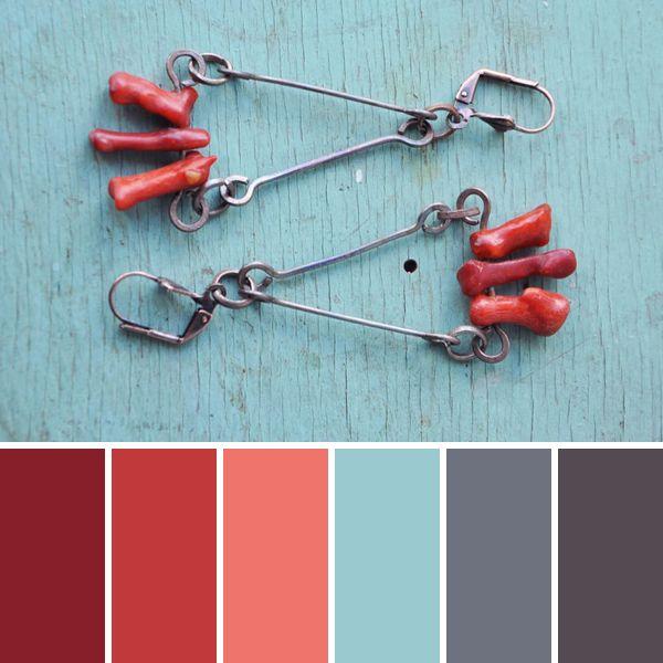 Коралловый риф: 15 чудесных цветовых палитр от мастеров портала - Ярмарка Мастеров - ручная работа, handmade