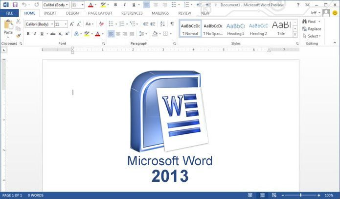word microsoft 2013 free download