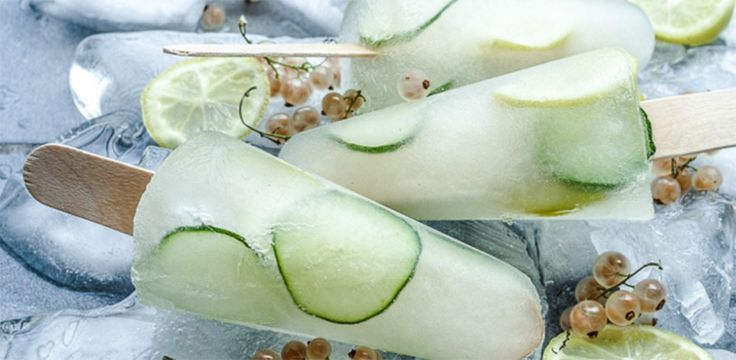 13 Ways To Drink Gin That You Probably Didn't Think Of Before.  Love these ice lollies!
