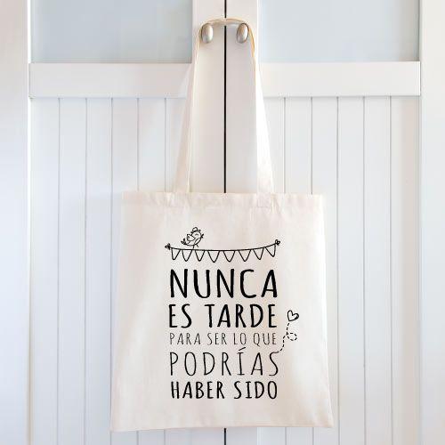 Bolsas personalizadas para bodas. Nunca es tarde