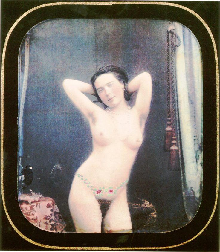 Escenas eróticas desde otro punto de vista: daguerrotipos de 1850 coloreados a mano
