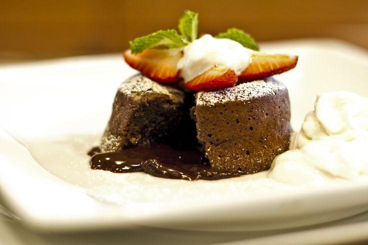 Receta de Pastelitos de Lava de Chocolate