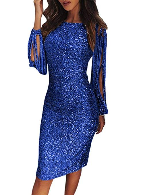 Damen-Abendkleid mit viel Bling Bling. Dieses elegante Cocktailkleid bietet Ihnen … – ❤ Glitzer Hochzeit mit viel Bling Bling