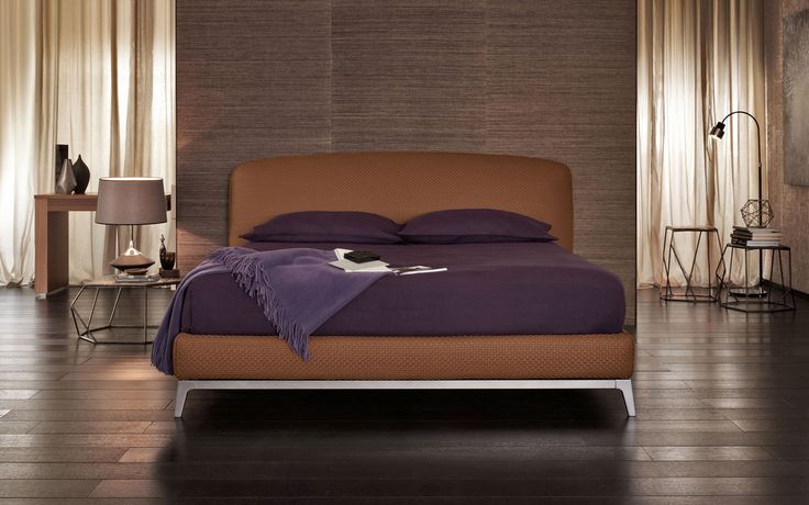 Olivier bed by Flou http://www.flou.it/it/products/beds/olivier_82