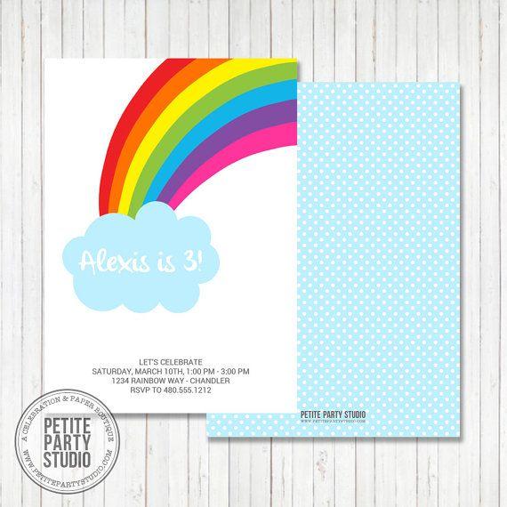 rainbow baby shower invitations on pinterest rainbow baby rainbow
