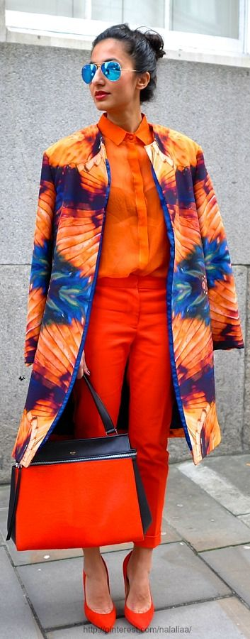 Fendi- I could do w/out the sunglasses... The coat over either shade of orange- not both would be better for me...