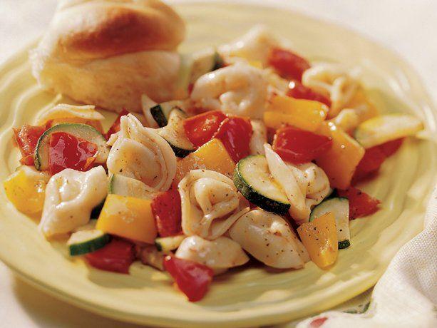 Tortellini with Fresh VegetablesFun Recipe, Yummy Food, Dinner Time, Healthy Recipe, Favorite Recipe, Fresh Vegetables, Food Recipe, Dinner Recipe, Delicious Tortellini