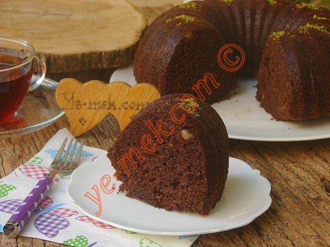 Kakaolu Havuçlu Kek Resimli Tarifi - Yemek Tarifleri