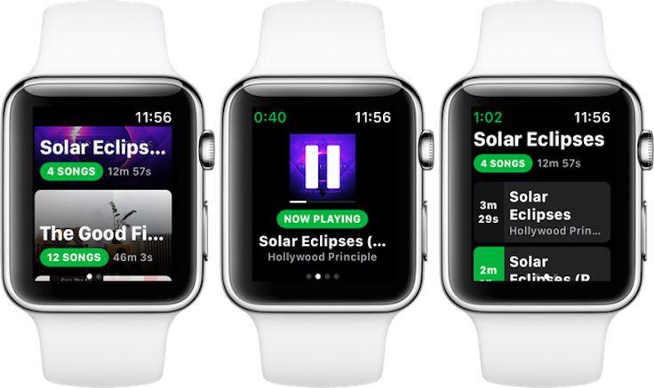 Con Spotty podrás escuchar offline tu música de Spotify en el Apple Watch - http://www.actualidadiphone.com/spotty-podras-escuchar-offline-musica-spotify-apple-watch/
