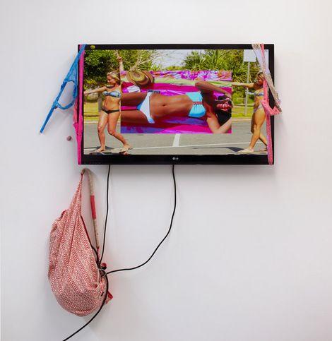 Ed Fornieles, ivy pink 2012 on ArtStack #ed-fornieles #art