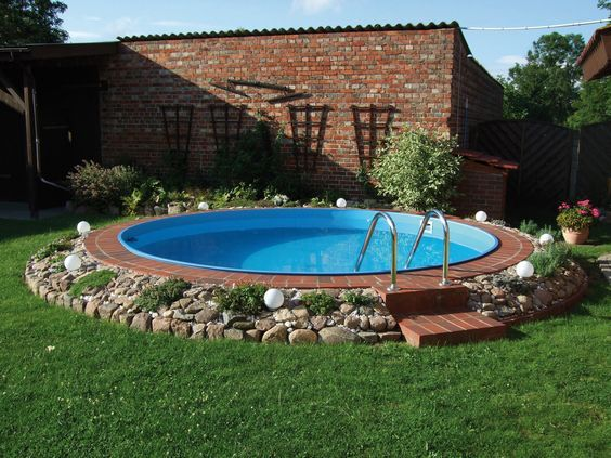 25 best ideas about piscine acier on pinterest cloture for Kit piscine enterree