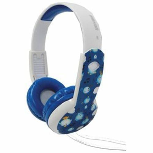 Maxell Blue Boy 3-5 Years Safe Soundz Stereo Headphones 20-20K Hz Volume Limit  #Maxell #ChildrensSizeHeadphonesAges35