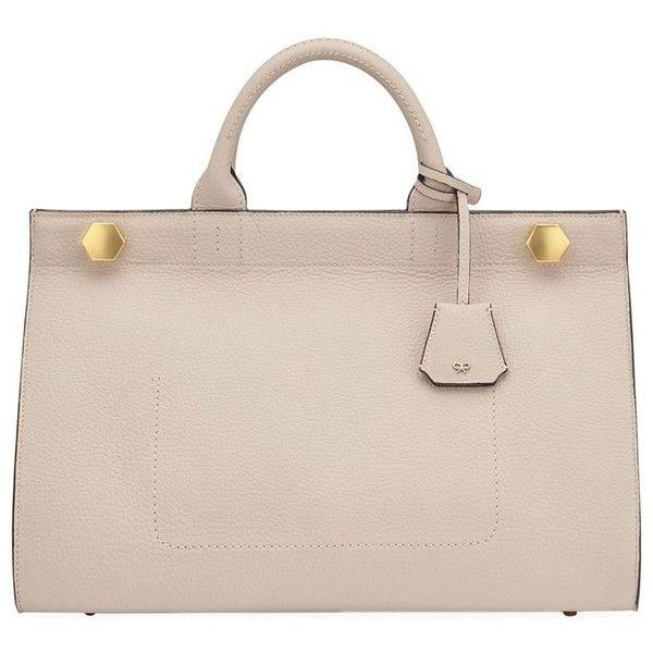 Anya Hindmarch Ephson Top Handle Bag ($1,870) ❤ liked on Polyvore