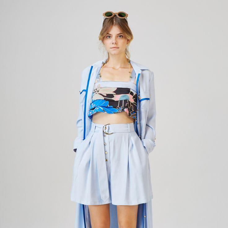 Csopak Shorts Blue