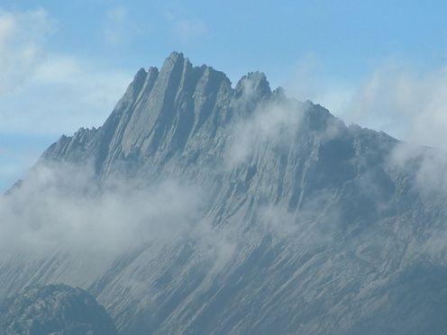 The Puncak Jaya peak in the Australian Continent.