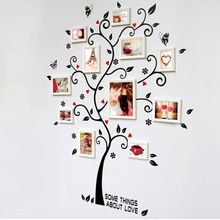 3D bricolage amovible Photo Tree Pvc Stickers muraux / Stickers muraux adhésifs Art Mural Home Decor(China (Mainland))