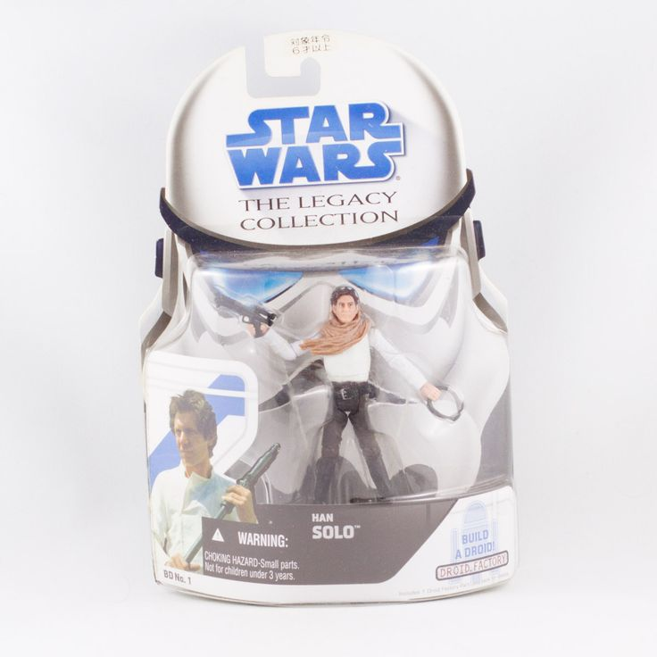Han Solo, Star Wars Hasbro The Legacy Collection  Han Solo