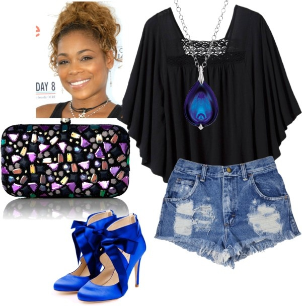 """Tionne Watkins"" by djlbg on Polyvore"