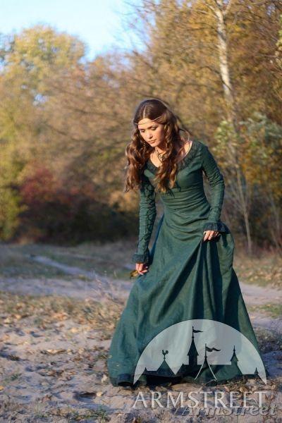 """Mittelalter Kleid """"Die Herbststimmung"""""""