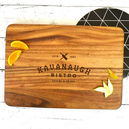 Personalised Bistro Chopping Board