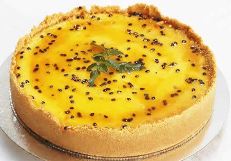 Na Cozinha da Margô: Torta Mousse de Maracujá