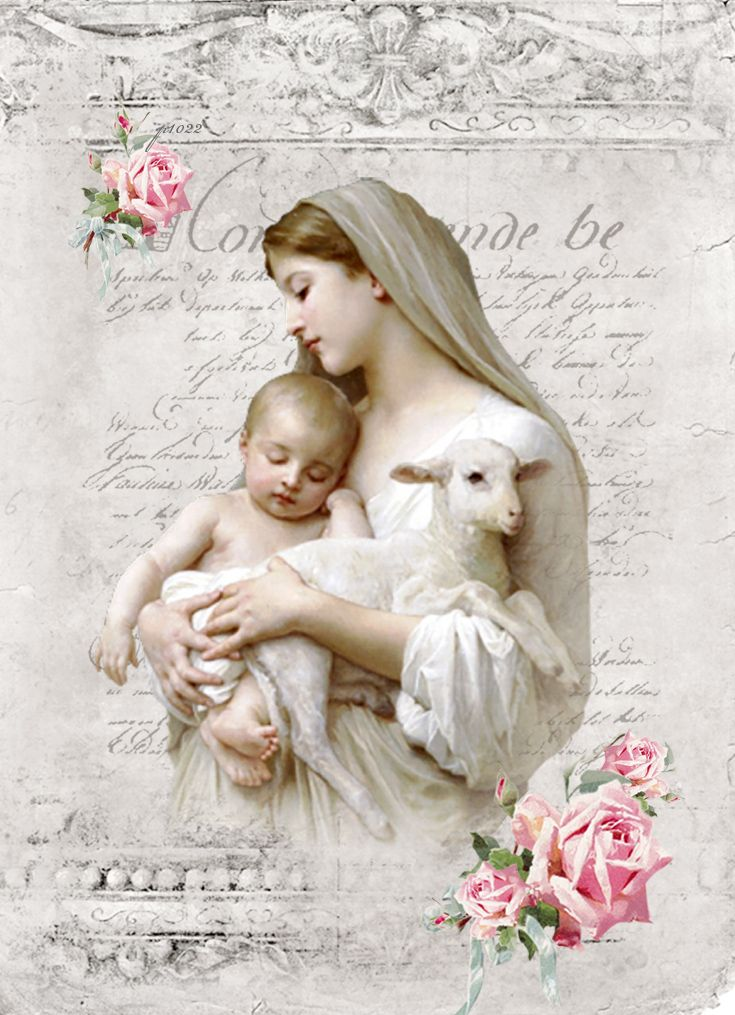 William-Adolphe Bouguereau-Innocence Digital collage P1022 for personal use only...