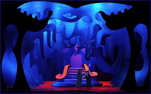 Turandot set design - david hockney