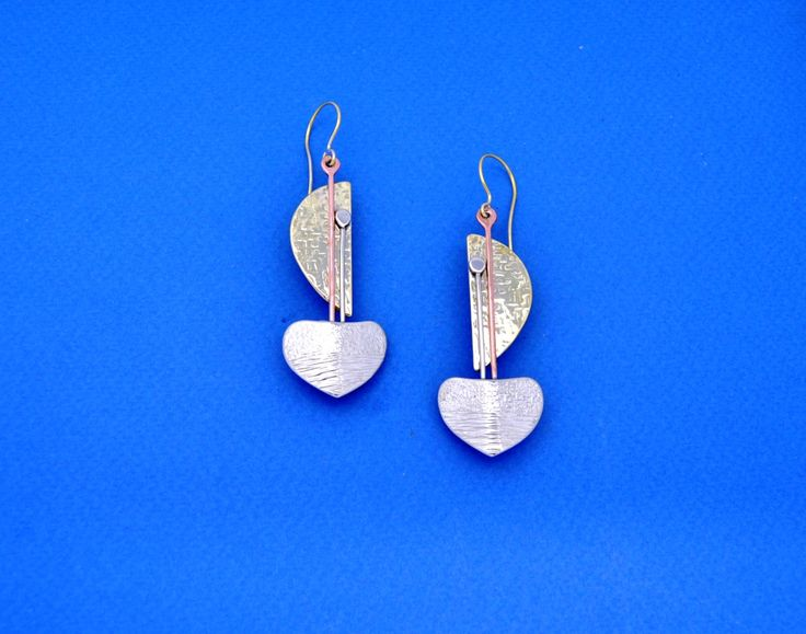 Silver Earrings. Handmade Jewelry. Gift for her. Birthday Gift. Anniversary Gift. Summer Jewelry. by ZeusJewelry on Etsy