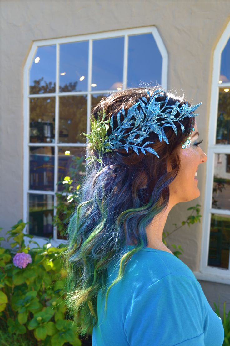 best mermaid hair styles images on pinterest colourful hair