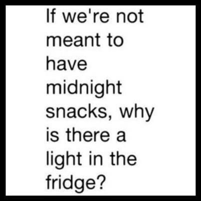 Yeah Why is there a light in the fridge?