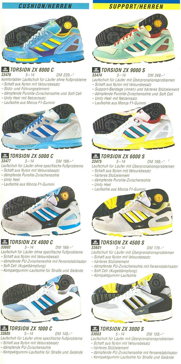 Classic Adidas Torsion Collection Ad