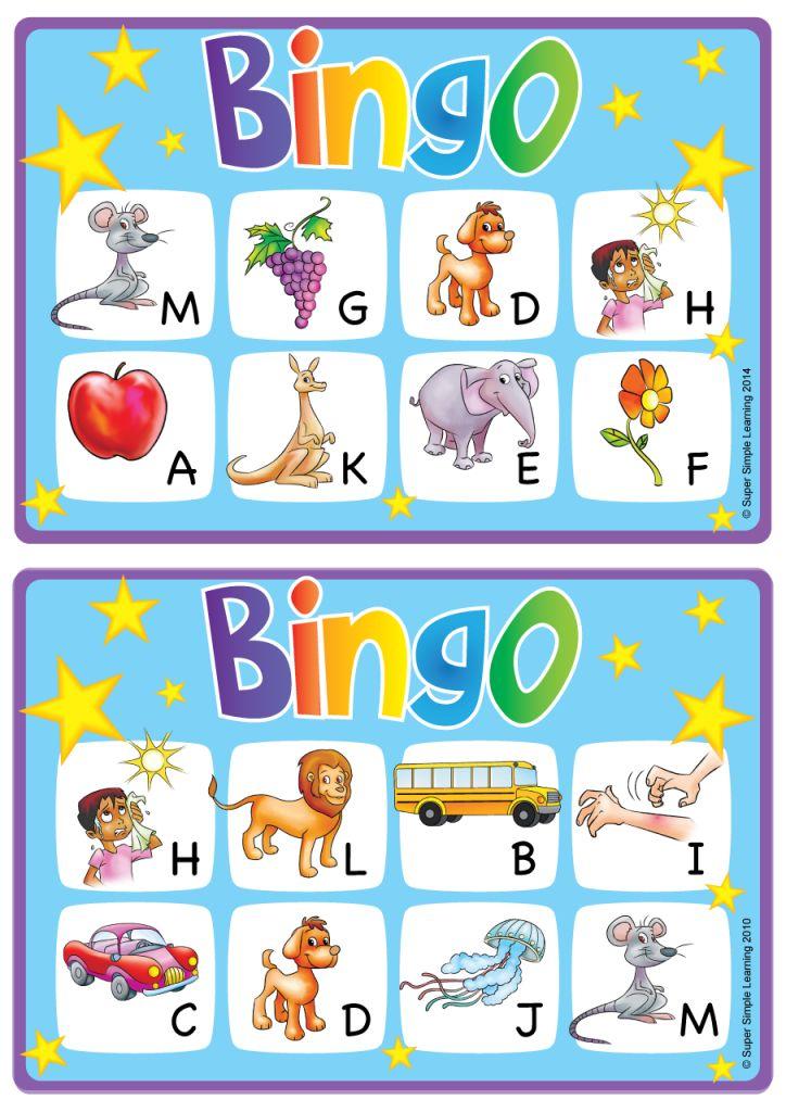 alphabetvocabulary bingo game  uppercase letters am