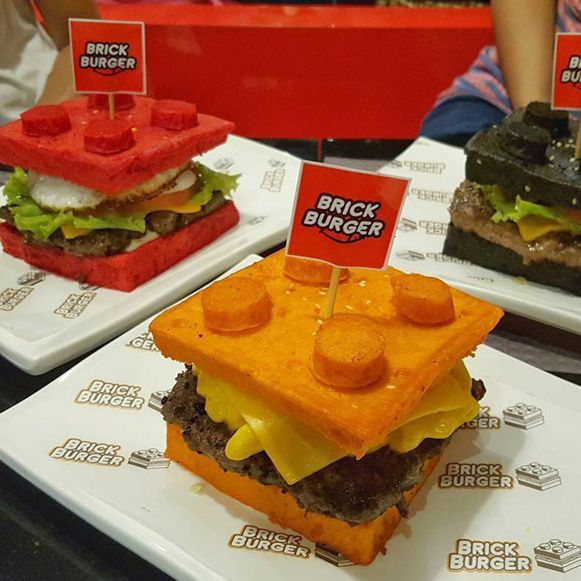 Lego Burger – Bem Legaus