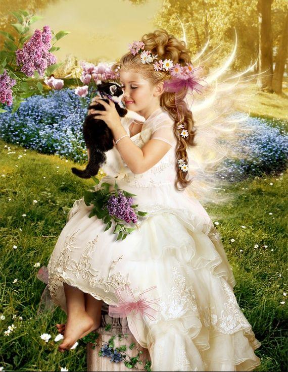 Картинки с сказочными девочками