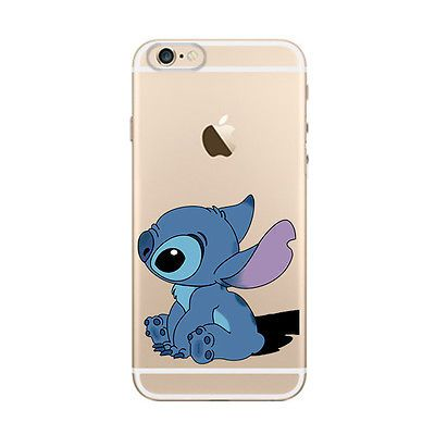 New-Lovely-Stitch-Cartoon-Pattern-Hard-Back-Case-Cover-For-iPhone-5S-5C-6-6-Plus