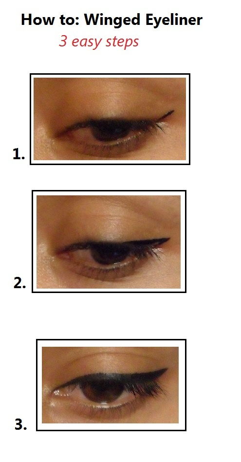 how to create the perfect winged eyeliner