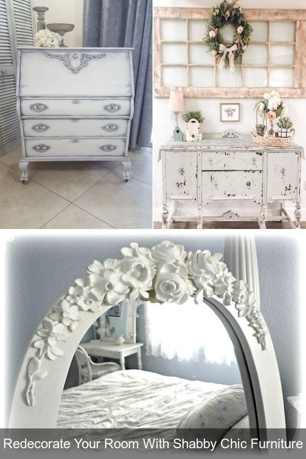 Vintage Shabby Chic Dresser French, Country Chic Furniture