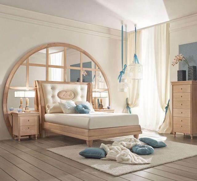 Id es de d co chambre fille dans le style romantique tr s for Deco chambre fille romantique