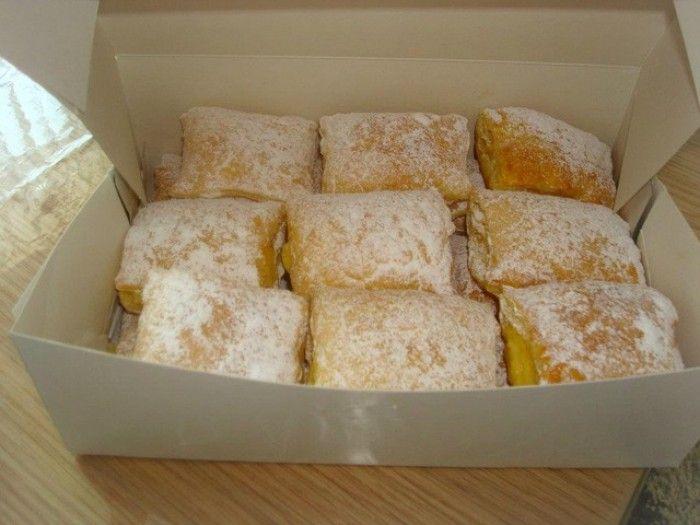 Recept: Bladerdeeg gebakjes met banketbakkersroom   Womanistical