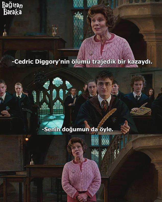 Hogwarts'dan 9¾ Treniyle Gelmiş 26 Komik Harry Potter Caps'i