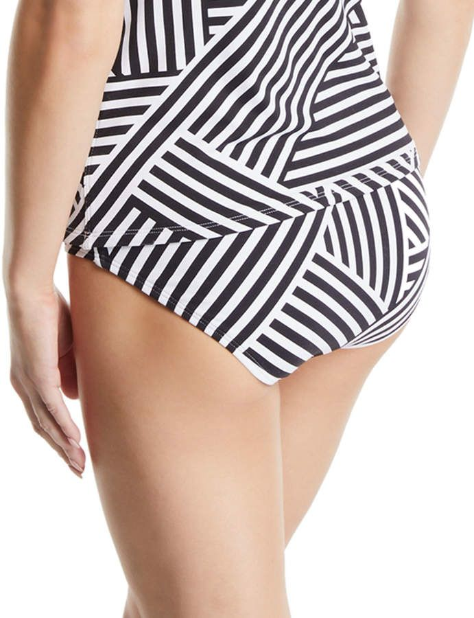 1ecee82b6 Tommy Bahama Fractured Stripe Shirred Hipster Bikini Bottoms  Fractured  Stripe Tommy