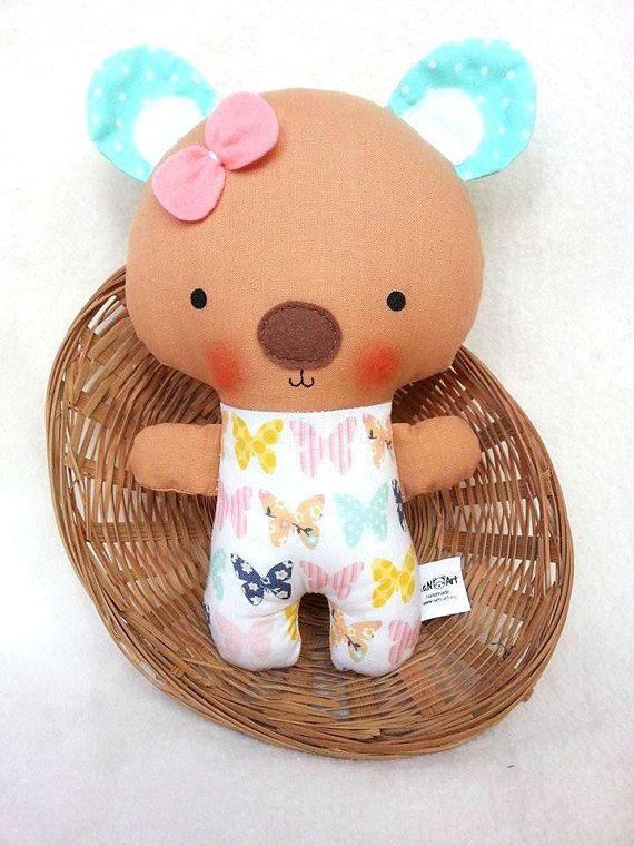 Handmade Teddy Bear Soft Teddy Bear Teddy Plushie Teddy by SenArt1