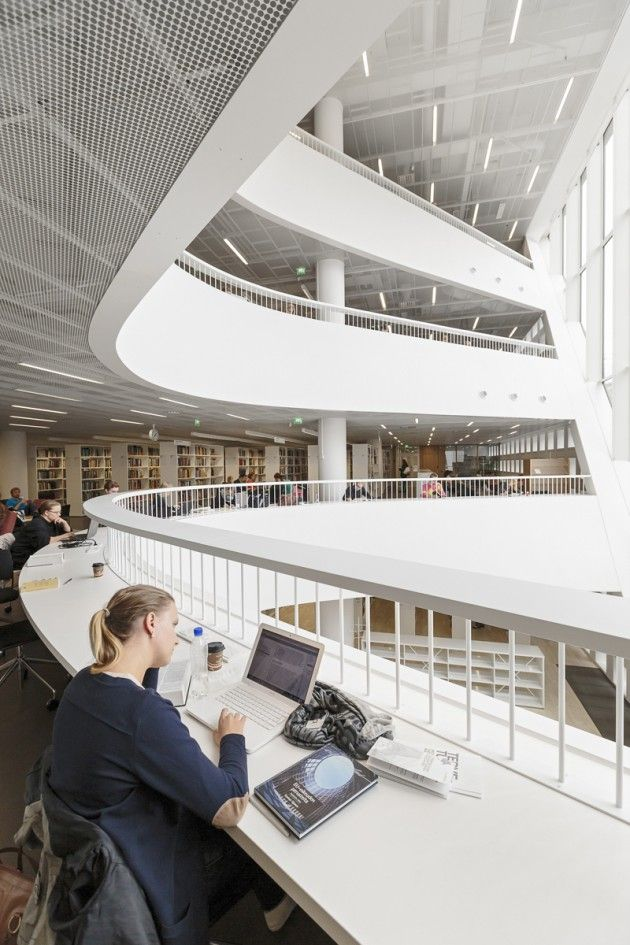 The Fundamental Library on the Helsinki College in Finland